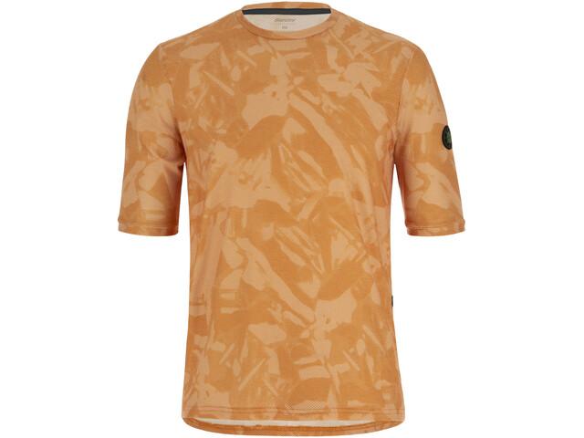 Santini Delta Gravel Tech T-Shirt Men, naranja